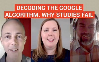 Decoding the Google Algorithm